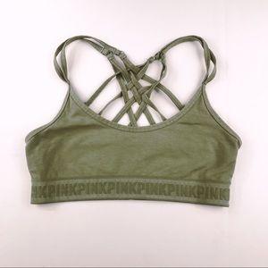 Victoria's Secret PINK strappy-back bralette